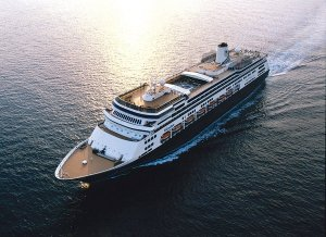ms Volendam at Sea