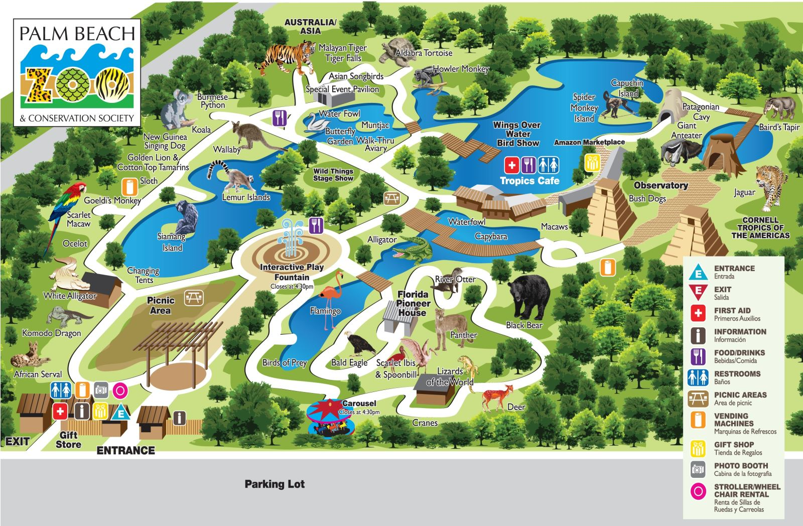 Palm Beach Zoo Receives Community Development Grant from Bank of ...