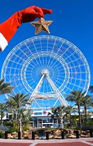 Star on the Orlando Eye