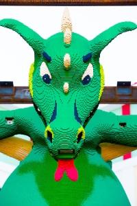 DRAGON INSTALLATION AT LEGOLAND FLORIDA RESORT