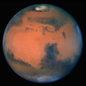 The Sharpest View Of Mars Ever Taken From Earth Was Obtained By The Recently Refurbished Nasa Hubble Space Telescope (Hst). This Stunning Portrait Was Taken With The Hst Wide Field Planetary Camera-2 (Wfpc2) On March 10, 1997, Just Before Mars Opposition, When The Red Planet Made One Of Its Closest Passes To The Earth (About 60 Million Miles Or 100 Million Km)  Source: Getty Images North America
