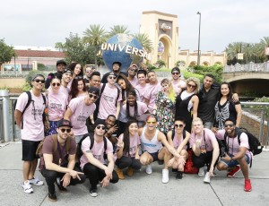 Ariana Grande and Honeymoon Tour at Universal Orlando Resort