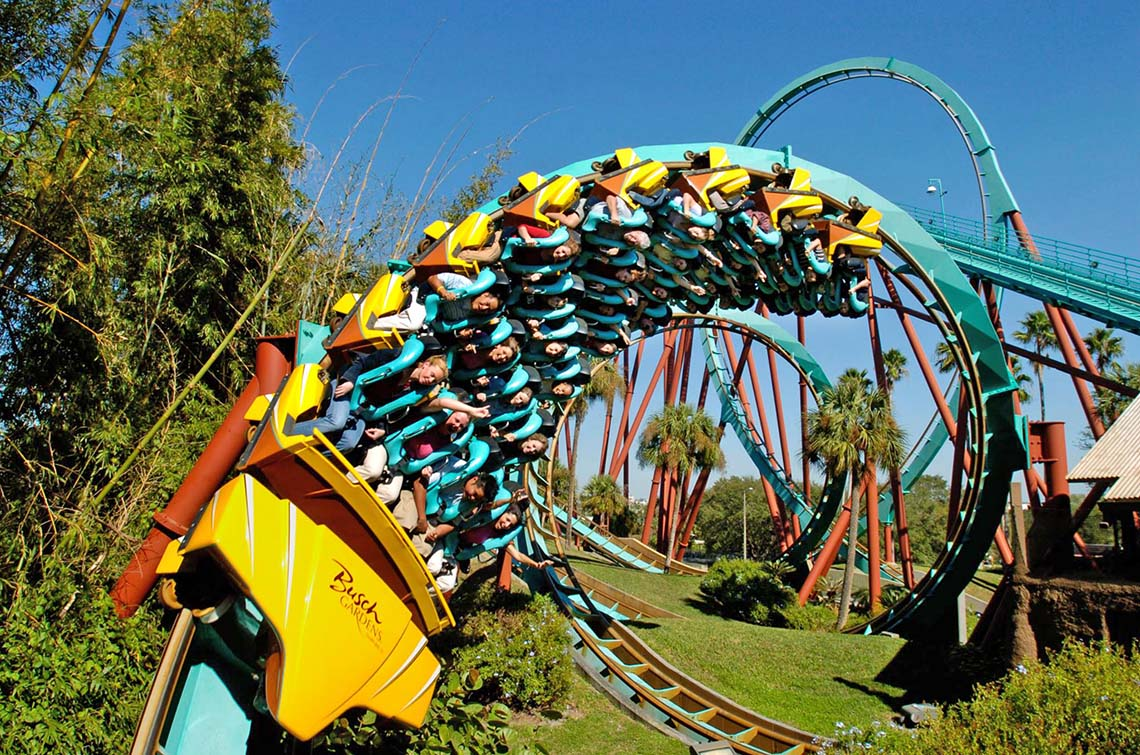 Busch Gardens Offers Ultimate Flexibility With Ride